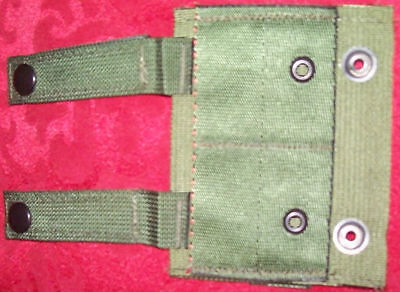 LOT OF 10 US ARMY MILITARY SURPLUS  MOLLE II ALICE ADAPTOR GREEN