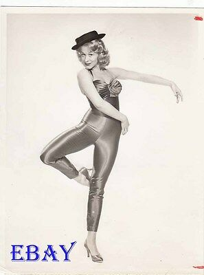 Gretchen Wyler busty leggy VINTAGE Photo Bob Crosby Show