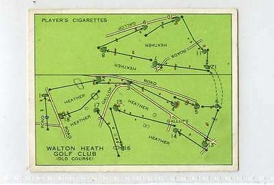 (Jn115-100) Players,Championship Golf Courses,Walton Heath ,1936 #14