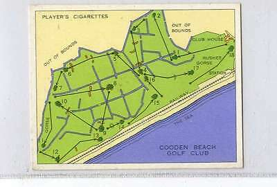 (Jn131-100) Players,Championship Golf Courses,Cooden Beach ,1936 #22
