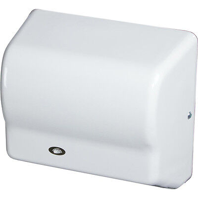 AMERICAN DRYER AUTOMATIC HAND DRYER, 120V STEEL WHITE GX1-M