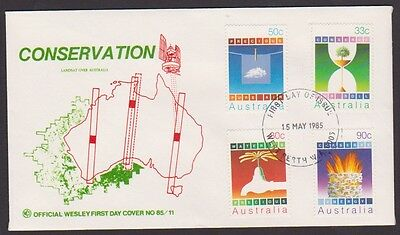 1985 CONSERVATION Unused WCS  FDC