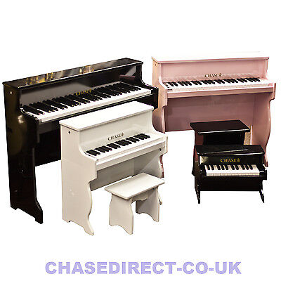 Chase Digital Electric Piano - in High Gloss Black, White or Pink - From £59