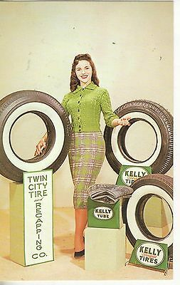 Monroe Louisiana Twin City Tire ad for Kelly Tire printed 1986 vintage pc Z2982