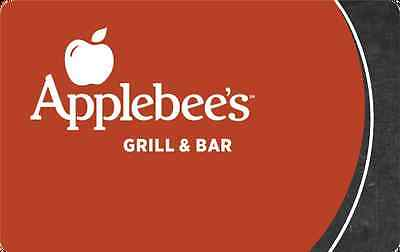 Applebees Gift Card $25/ $50/ $100 - Mail delivery