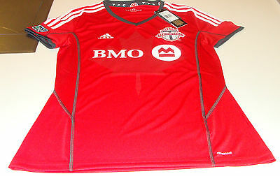 2014 Toronto FC MLS Soccer Football Home Jersey Red ClimaCool M Canada Ladies