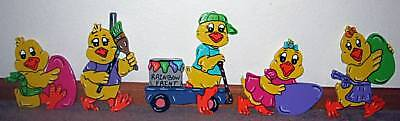 Chick Egg Parade Easter Spring Lawn Yard Art Decoration