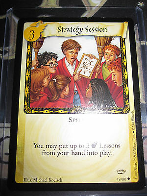 Harry Potter Trading Card Game Tcg Strategy Session Promo Rare English Mint