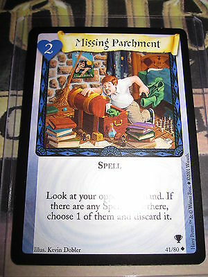 HARRY POTTER TRADING CARD TCG QUIDDITCH CUP HUFFLEPUFF MATCH 37//80 UNCO EN MINT