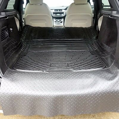 Choice of  rubber boot liner load mat bumper protector Range Rover Evoque
