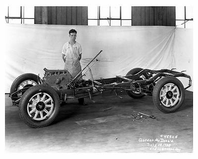 1929 Essex Chassis Factory Photo uc6279