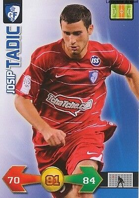 Josip Tadic # Croatia Grenoble Foot Card Carte Panini Adrenalyn Foot 2010