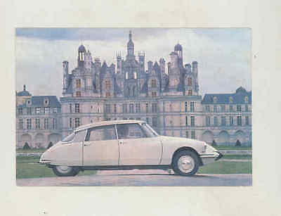 1965 ? Citroen DS19 Factory Postcard wu0568