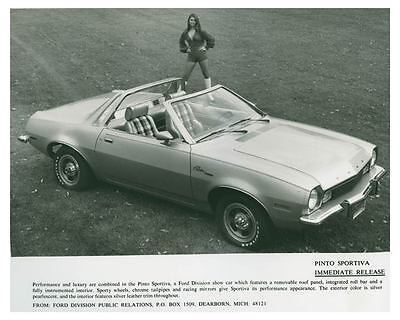 1973 Ford Pinto Sportiva Automobile Photo Poster zch4564