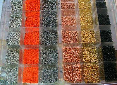 100 TUNGSTEN beads.11 colors/5 sizes to choose from-SEE CHART-5 pacs of 20 beads