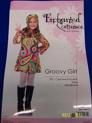 Groovy Girl Hippie 60u0027s Flower Child Fancy Dress Halloween Child Costume  sc 1 st  PicClick : groovy woodstock baby costume  - Germanpascual.Com
