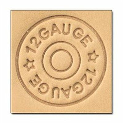 Shotgun Shell 3D Stamp 8664-00 by Tandy Leather