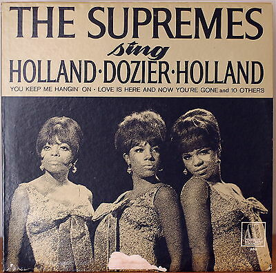 THE SUPREMES SING HOLAND•DOZIER•HOLLAND-M1966LP MOTOWN YOU KEEP ME HANGIN' ON
