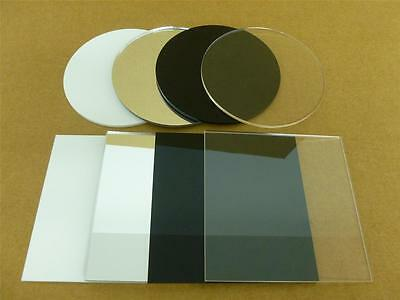 Classikool 3mm Perspex Round / Square Acrylic Discs: 10mm to 200mm in 4 Colours