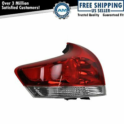 Taillight Taillamp Brake Light Outer Driver Side Left LH for 09-12 Toyota Venza