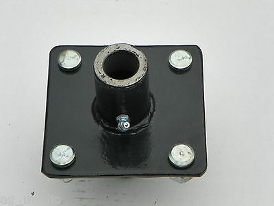 """Replacement 4 Bolt Tailwheel Hub with 1"""" X 8"""" Axle Bolt and Nut"""