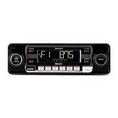 Classic Car Retro Autoradio Oldtimer Youngtimer Usb Sd Mp3 Cd Bluetooth Radio