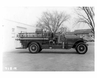 1923 Stutz Fire Truck Photo Poster Sycamore Illinois zca0608
