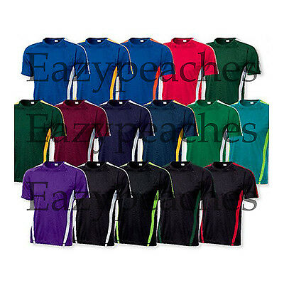 Dry Zone Competitor Colorblock dri-fit Performance T-shirts Mens S-4XL LT-4XLT