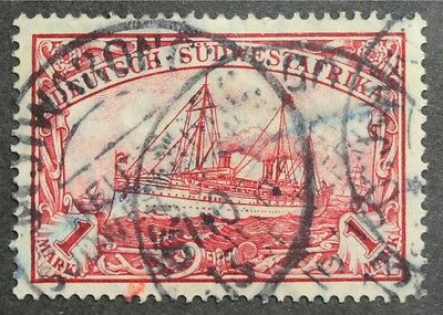 GC095 GERMAN SOUTH WEST AFRICA 1M, Sc #31 Mi #29a Used