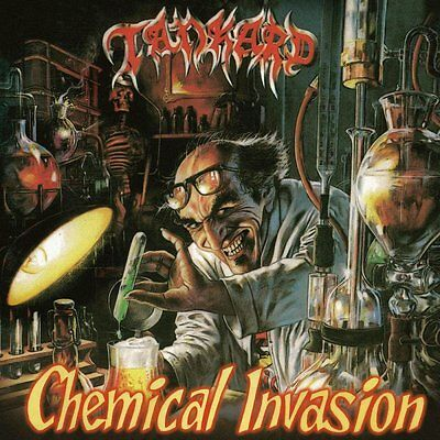 TANKARD - Chemical Invasion  [YELLOW Vinyl] LP