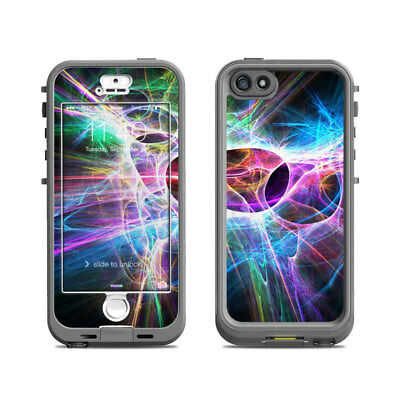 Skin for LifeProof Nuud iPhone 5S - Static Discharge - Sticker Decal