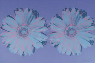 POP ART PRINT - Daisy ca. 1982 (double purple) by Andy Warhol 26x36 Poster OOP