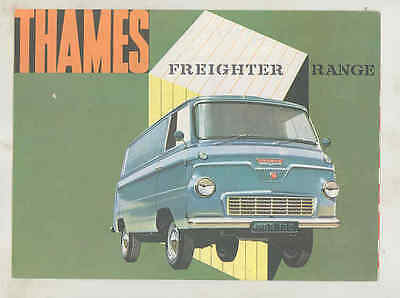1962 Ford Thames Freighter Panel Van Brochure England wu1059