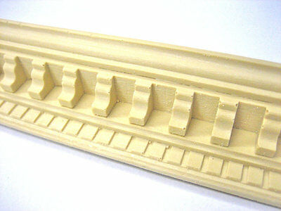 Decorative Wood Mouldings * Wood & Resin * 18 In. * Flexible * Stainable *