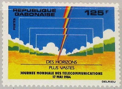 GABON GABUN 1984 903 564 World Telecommunications Day Weltfernmeldetag MNH