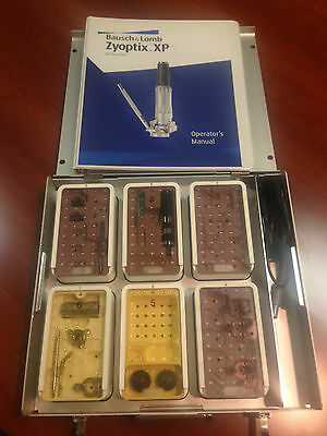 Refurbished Bausch Lomb Zyoptix XP Microkeratome Tray with motor heads & rings