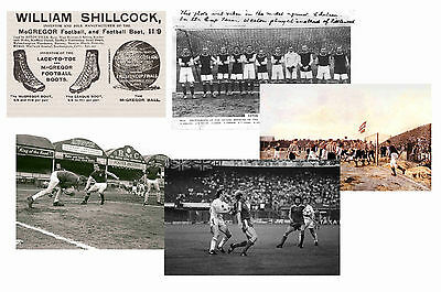 Aston Villa - Set Of 5 - Classic Large Vintage Photo Prints # 1