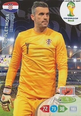 N°194 Stipe Pletikosa # Croatia Panini Card Adrenalyn World Cup Brazil 2014