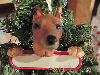 Min Pin  ~ Red  ~ Ornament #99