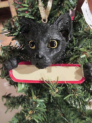 Cat ~ Black   ~ Ornament  #5