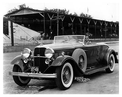 1932 Lincoln Factory Photo uc6579
