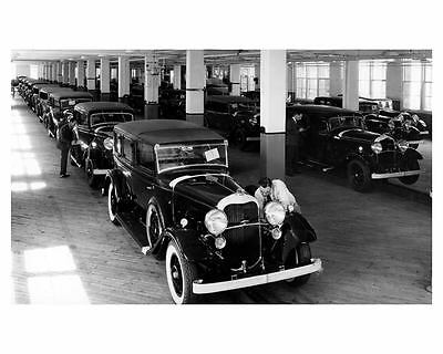 1932 Lincoln Factory Photo uc6565