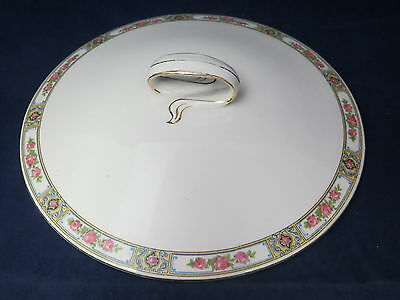 ALFRED MEAKIN - Clifton - Pink Roses - COVERED SERVING BOWL Lid Only - 43A
