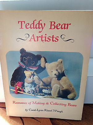 Hobby House First Early Teddy Bear Artist Book RARE GREAT REFERENCE BOOK