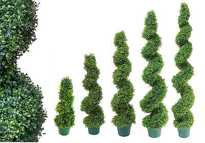 Best Artificial Spiral Boxwood Buxus Topiary Outdoor Twist Garden Home Trees