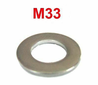 M33 Stainless Steel Washers 3mm thick. M33 (34.5mm x 60mm) Stainless Washers