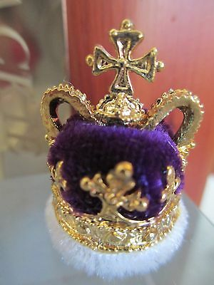 Prince Of Wales Miniature Crown 1728 #61053 ** See How To Get Free Display Case
