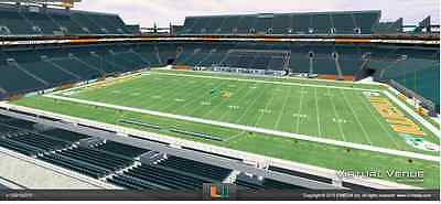 2 or 4 tickets Bethune Cookman @ Miami Hurricanes 9/5 Sect 316 Row 8 Sideline