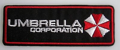 Resident Evil  -  Umbrella Corporation Horizonta Logo Uniform Patch neu