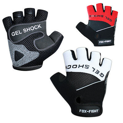FOX-FIGHT GEL Fitness- Kraftsporthandschuhe  Handschuhe Trainingshandschuhe